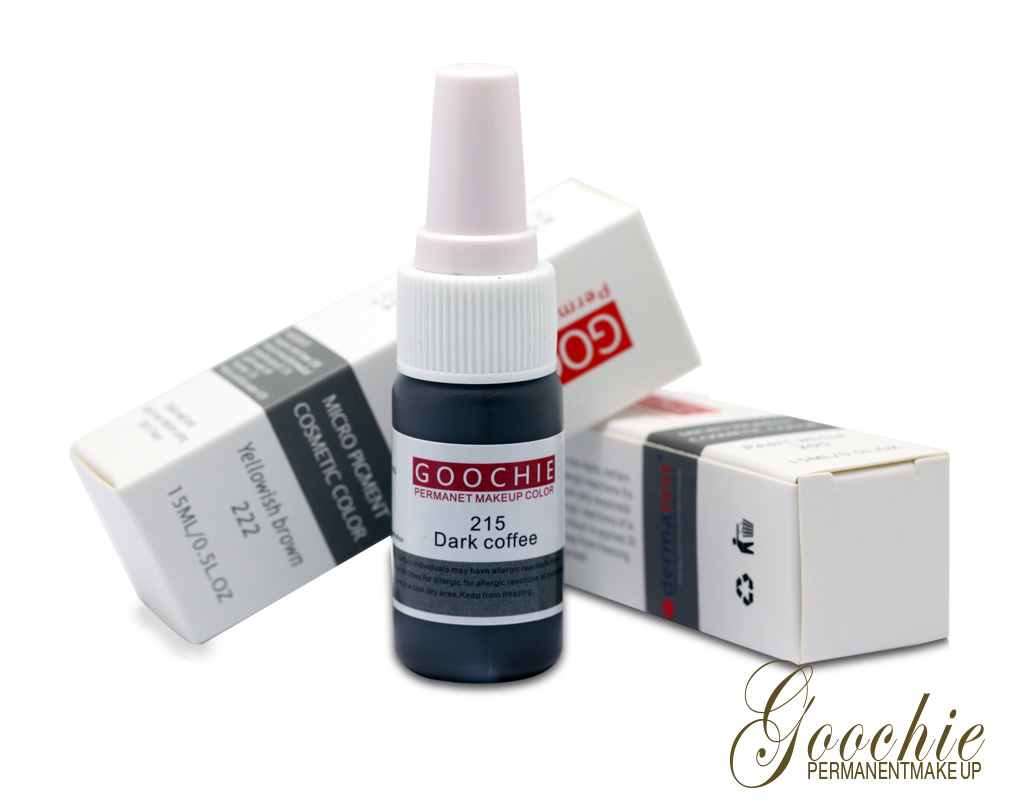 New arival goochie organic tattoo ink for permanent for Organic tattoo ink